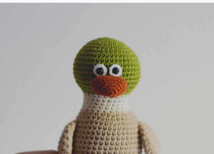 Crochet Webby Duck Amigurumi - Free... - Creative DIY 4ever | Facebook | 530x735
